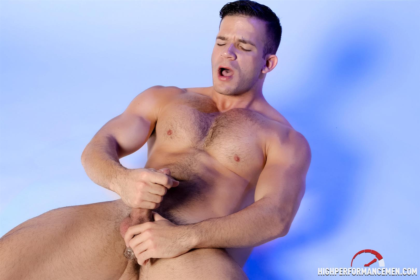 High-Performance-Men-Angel-Rock-Big-Uncut-Cock-Jerking-Off-Latino-Amateur-Gay-Porn-15 Muscle Hunk Angel Rock Jerking Off His Big Uncut Cock