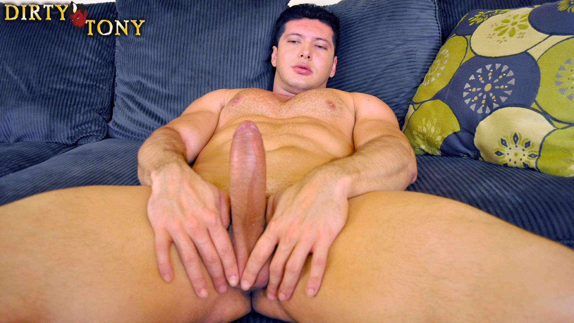 Dirty Tony LIAM SANTIAGO Straight Muscle Latino Jerking Off Big Uncut Cock Amateur Gay Porn 04 Straight Hairy Muscle Latino Auditions For Gay Porn With A Big Uncut Cock