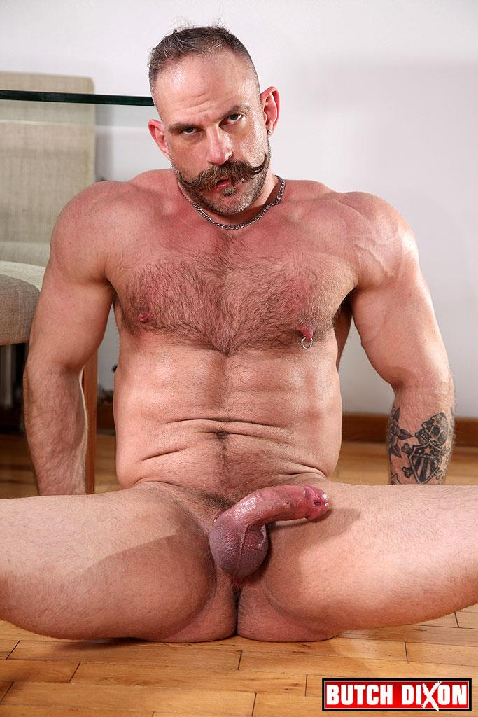 Butch Dixon Samuel Colt and Frank Valencia Hairy Muscle Daddy Getting Fucked By Latino Cock Amateur Gay Porn 22 Happy Fathers Day: Hairy Muscle Daddy Samuel Colt Taking A Big Cock Up The Ass