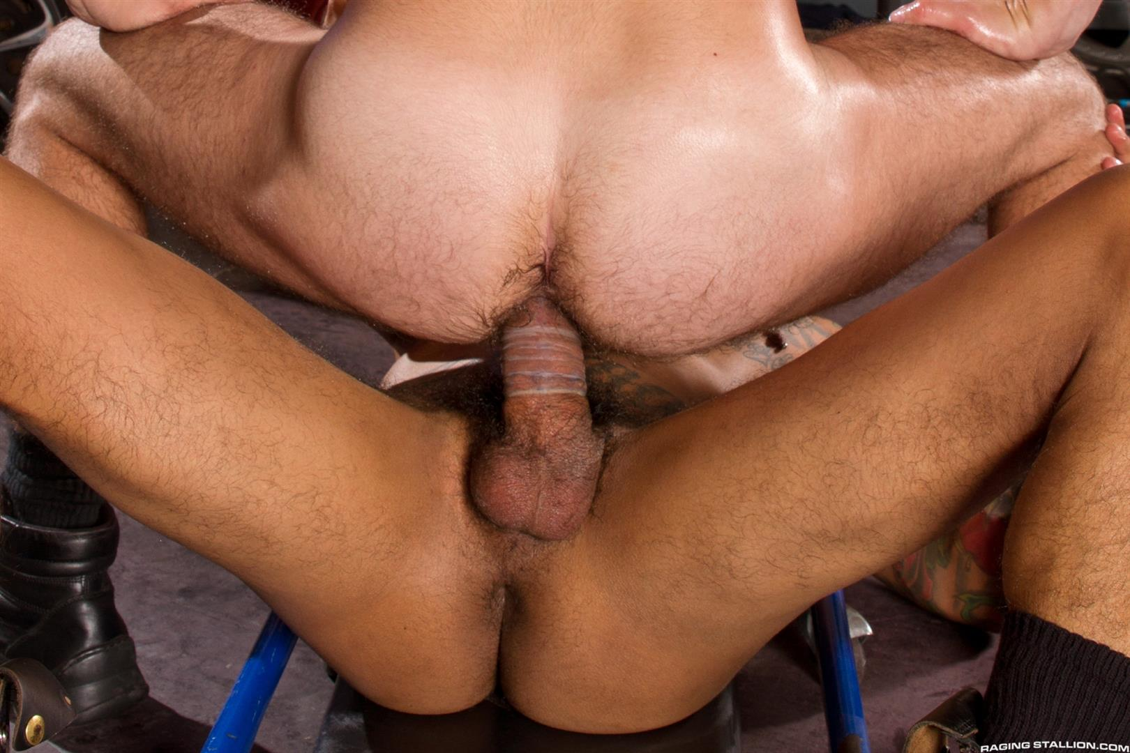 Raging Stallion Boomer Banks and Aaron Steel Big Uncut Cocks Fucking Amateur Gay Porn 11 Boomer Banks Fucking Aaron Steel With His Huge Uncut Cock