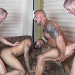 Raw-Fuck-Club-Vic-Rocco-and-Rikk-York-and-Billy-Warren-and-Job-Galt-Bareback-Daddy-Amateur-Gay-Porn-09-150x150 Four Hairy Muscle Daddies In A Bareback Fuck Fest Orgy
