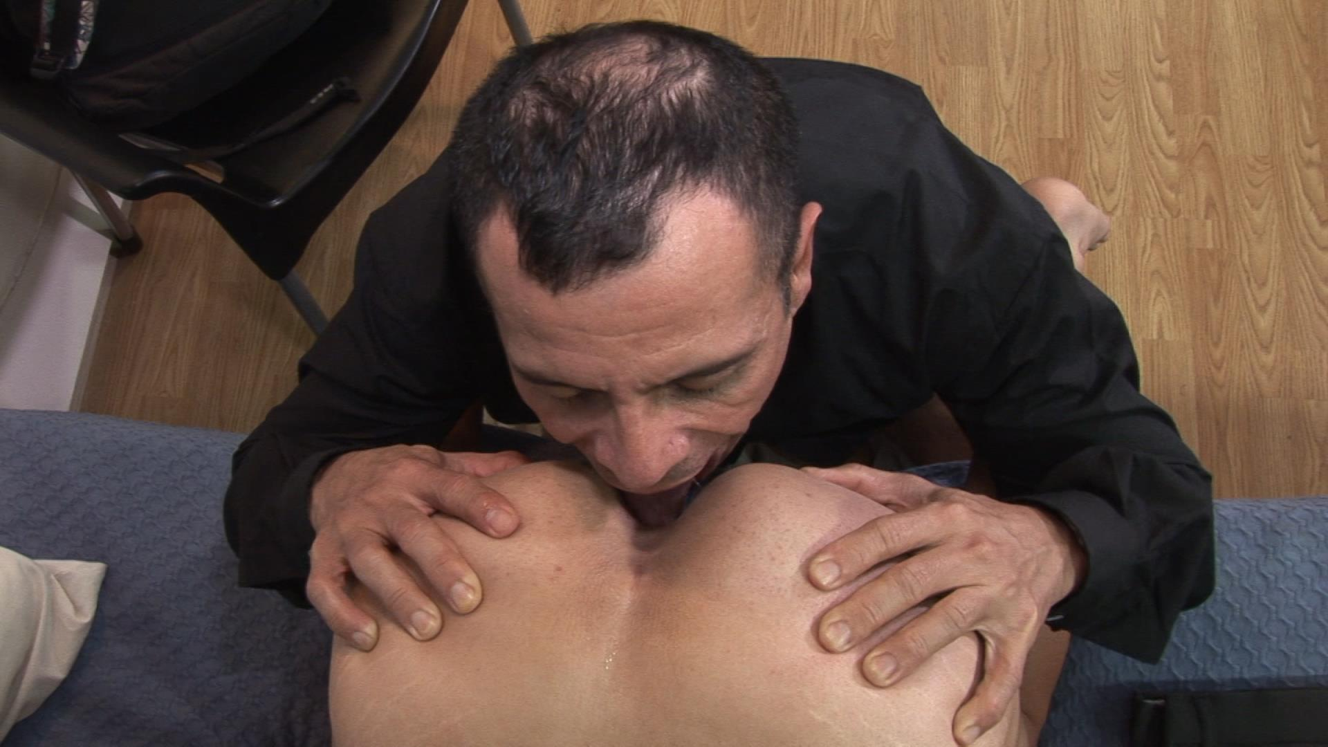 Bareback-Me-Daddy-Gay-Priest-Fucking-A-Student-12 Getting Barebacked By An Older Catholic Priest While In Boarding School